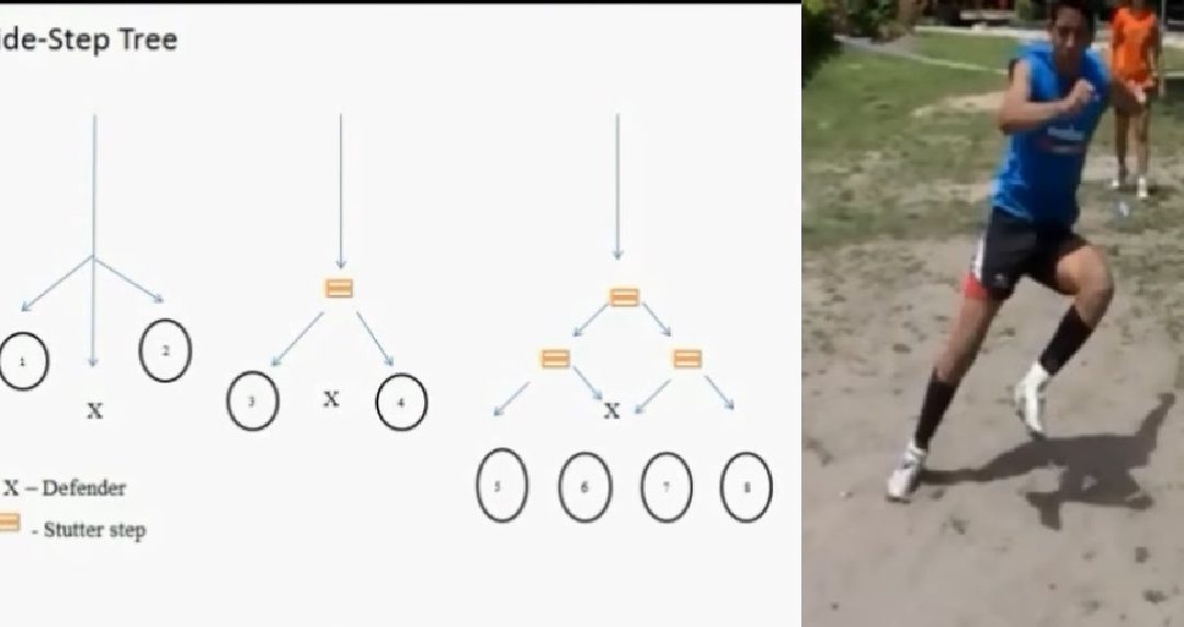 Rugby Drill – Side Step Tree
